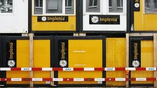 Implenia-Aktie im freien Fall
