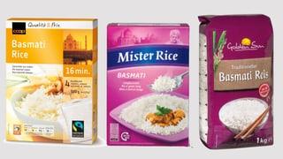 Jeder zweite Basmati-Reis ist unrein