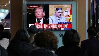 Donald Trump e Kim Jong Un vulan s'inscuntrar