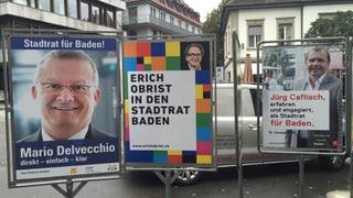 Badener Stadtrat: Noch kein Gewinner bei der Ersatzwahl