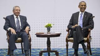 Obama und Castro: Das historische Treffen ist Tatsache