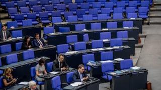 AfD verlässt demonstrativ den Bundestag
