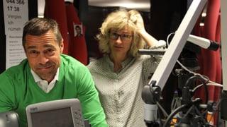 Panne im Studio von Radio SRF 1