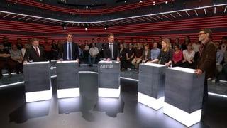 «Arena»: Wer finanziert die Politik und wollen wir das wissen?