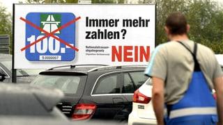 Gegner der 100-Franken-Vignette: «Zeichen für die Zukunft»