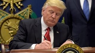 Trump restrenscha entrada da muslims