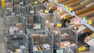 Online-Shopping löst Paketflut aus