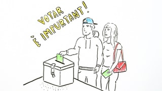 Laschar ir Video «Votar è easy!»