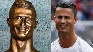 So lacht das Netz über den Bronze-Ronaldo