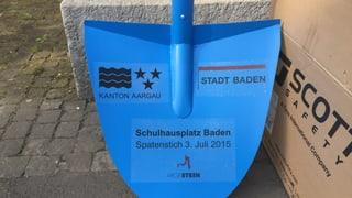 Schulhausplatz Baden: Von «Piazza insalata» zu «Ameisenhaufen»