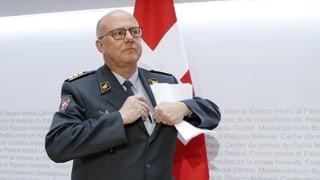 Il schef da l'Armada svizra sa retira (04.04.2019)