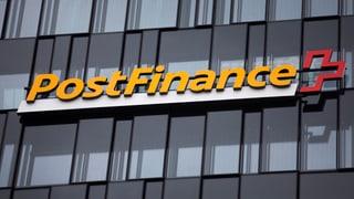 Postfinance wälzt Kosten der Negativzinsen auf mehr Kunden ab