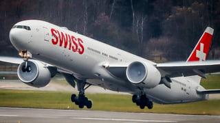 Swiss setzt Höhenflug fort