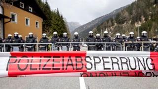 Naginas massas da fugitivs al Brenner