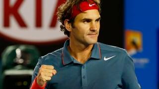 Federer gegen Tsonga souverän