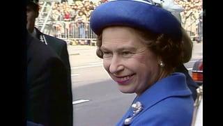 Vor 35 Jahren: So war der einzige Schweiz-Besuch der Queen