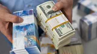 Starker Dollar lässt Schweizer Unternehmen hoffen