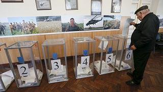Die Ukraine wählt – so gut es geht