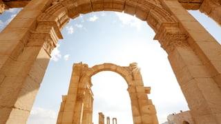 Palmyra gleicht heute einer Geisterstadt