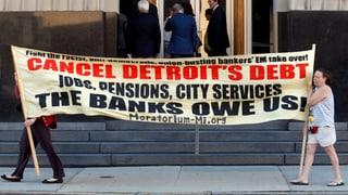 Der Streit um die Reste Detroits