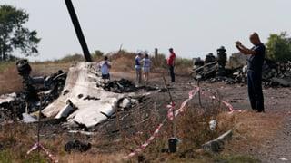Niederlande wollen Polizeitruppe für Absturzstelle von MH17