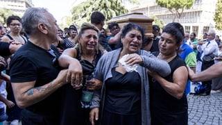 Beerdigung im Stil von «Der Pate» für italienischen Mafia-Boss