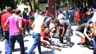30 Tote bei mutmasslichem IS-Anschlag in der Türkei