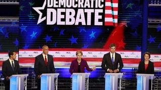 Elizabeth Warren dominiert die erste TV-Debatte