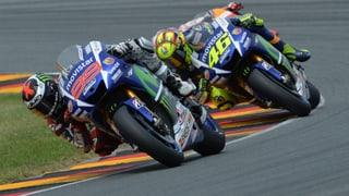 Rossi vs. Lorenzo: Explosiver Kampf um den WM-Titel