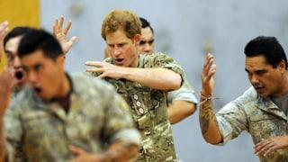 Harry tanzt den Haka: So hat man den Royal noch nie gesehen