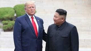 Wie sich Trump und Kim lieb gewonnen haben
