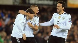 Deutschland hat das WM-Ticket in der Tasche