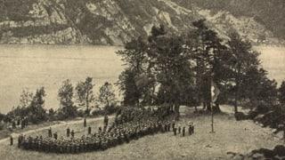 General Henri Guisans Rütli-Rapport vor 75 Jahren