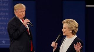 Trump e Clinton – duas vitas totalmain differentas