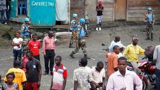 Blauhelmsoldaten in Kongo getötet