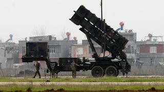 Patriot-Raketen in der Türkei einsatzbereit