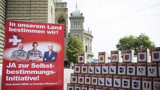 NR-Kommission sagt Nein zur «Selbstbestimmungs-Initiative»