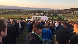 Rübenpflanzer demonstrieren für «Rettung des Schweizer Zuckers»