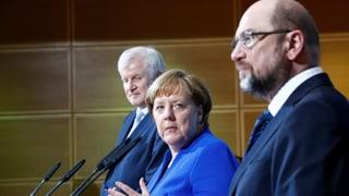 Neue grosse Koalition wird wahrscheinlicher