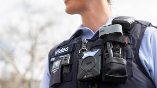 Zürcher Parteien stehen Polizeikameras skeptisch gegenüber