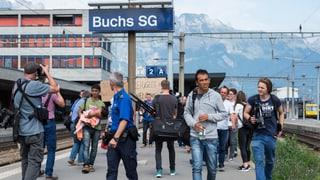 Flüchtlinge in der Schweiz: Erster Halt – Bahnhof Buchs