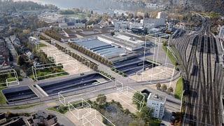 November 2017: Gegner des kantonalen Projekts präsentieren ihre Alternative für den neuen Bieler Autobahnabschnitt
