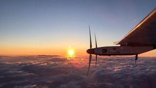 Solar Impulse 2 sa tschenta a Hawai