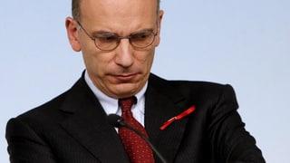Letta sitzt fest im Sattel, trotz Berlusconis Rückzug