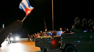 Ein letztes Treffen zwischen Fidel Castro und «Che» Guevara
