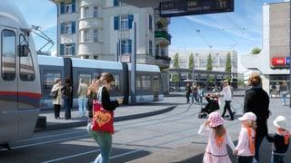 Die Limmattalbahn ist in Bern angekommen