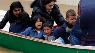 Not und Elend nach Unwetter auf dem Balkan