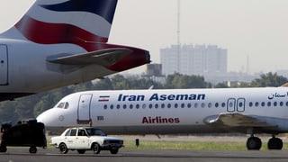 Iranisches Linienflugzeug abgestürzt