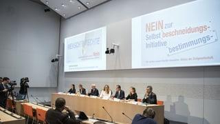 «Iniziativa d'autodeterminaziun – in privel per la Svizra»