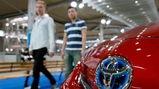 Toyota ruft über eine halbe Million Autos zurück